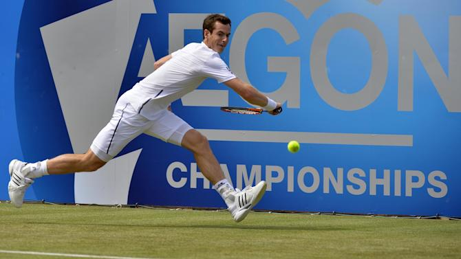 Tennis - Murray up and running on grass with victory at Queen's Club