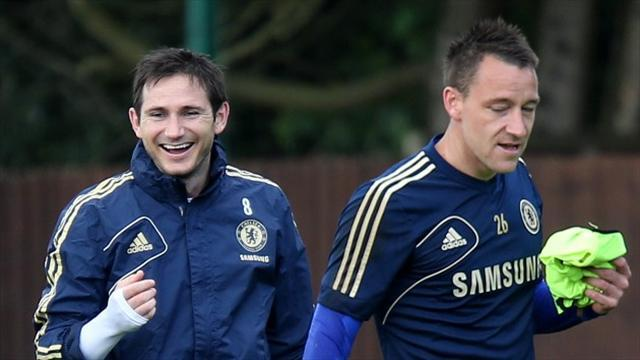 Premier League - Lampard hopes for new Terry deal