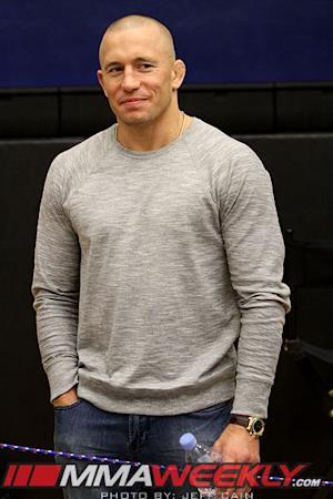GSP Didn't Want to Fight Johny Hendricks Because He Believes He Lost to Josh Koscheck