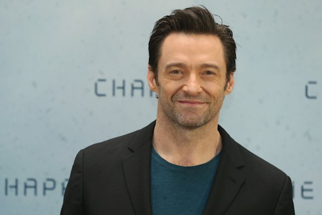 Actor Hugh Jackman attends a photo call for the film 'CHAPPIE' at Hotel De Rome on February 27, 2015 in Berlin, Germany. (Photo by Sean Gallup/Getty Images for Sony Pictures)