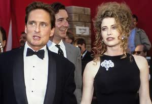Michael Douglas and Diandra Douglas | Photo Credits: Kevin Mazur/WireImage