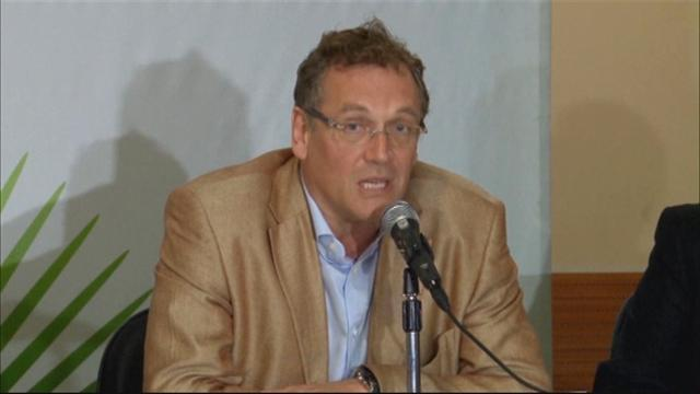 World Cup - 'Cement isn't even dry' moans Valcke about bungling Brazil