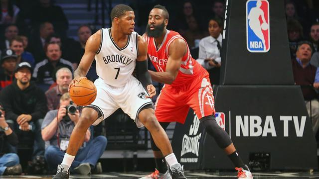 NBA - Nets clinch playoff berth win with over Rockets