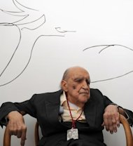 Brazilian architect Oscar Niemeyer in 2010
