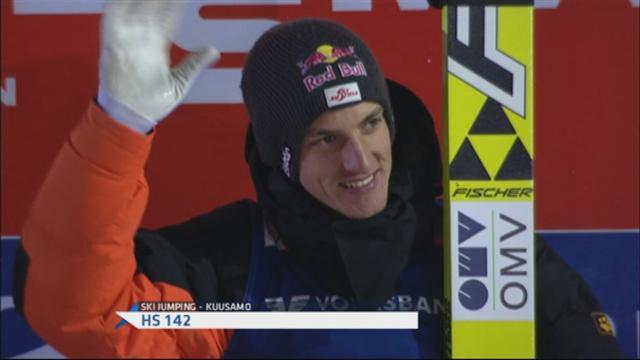 Ski Jumping - Schlierenzauer claims first World Cup win of the season