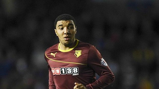 Troy Deeney rescued a point for Watford