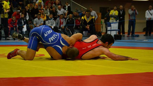 University Sports - Russia dominate men's competition at World University Wrestling Championship