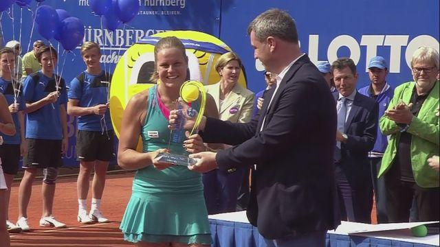 Knapp wins second WTA title