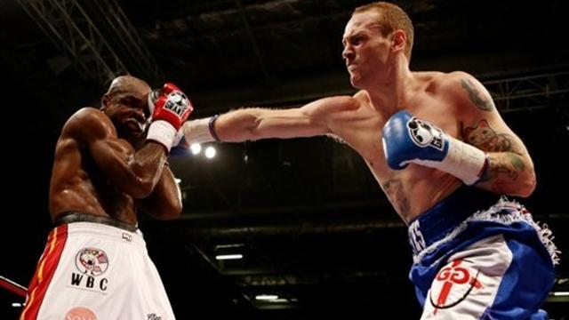 Boxing - Groves dominates Johnson for points win