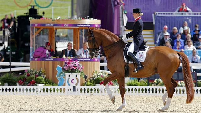 Britain make it 20 golds with first Olympic dressage win