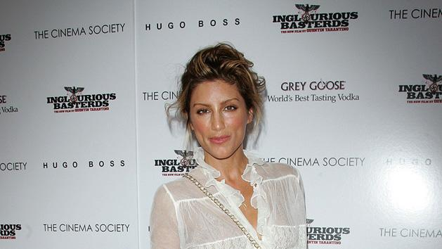 Inglourious Basterds NY Screening 2009 Jennifer Esposito