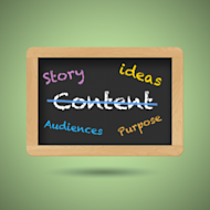 RANT: Let's Get Rid of 'Content Marketing' image contentchalkboard 300x300