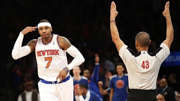 New York Knicks forward Carmelo Anthony (Reuters)