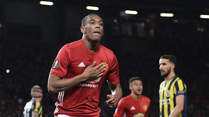 Manchester United forward Anthony Martial expected to be fit for Burnley clash