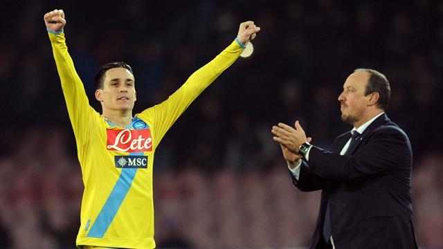 Serie A - Benitez 'gave up on league'
