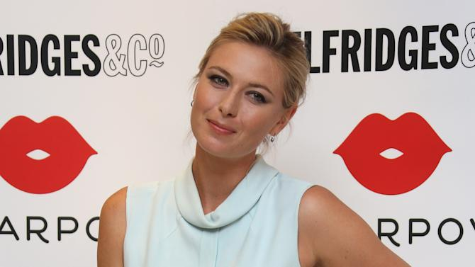 Britain Maria Sharapova Launches Sugarpova Sweets