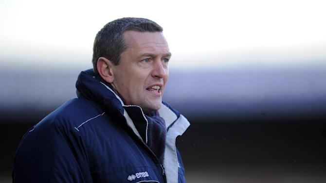 Aidy Boothroyd was happy with his side's performance against Rotherham