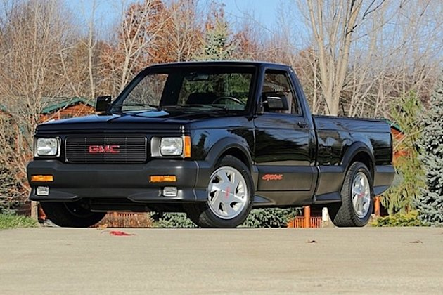 1991 GMC Syclone fastest pickup front photo