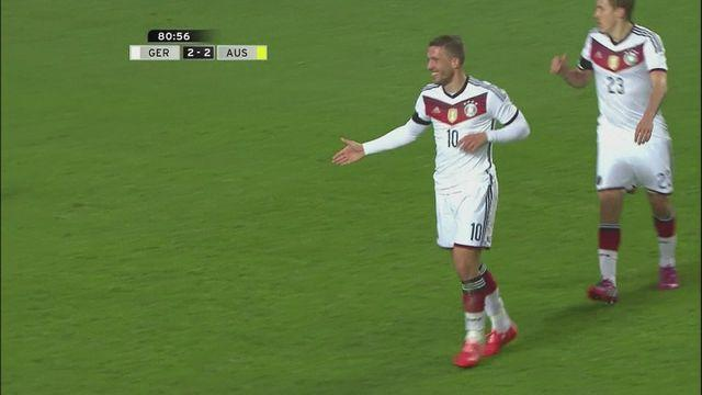 Late equaliser earns Germany 2-2 draw with Australia