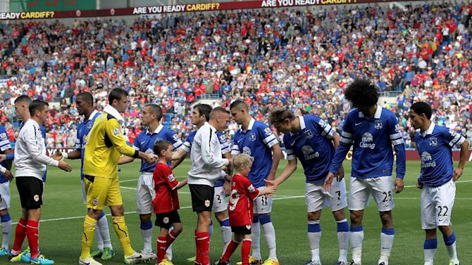 Soccer - Barclays Premier League - Cardiff City v Everton - Cardiff City Stadium