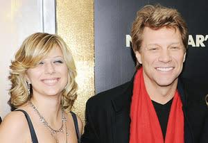 Stephanie Rose Bon Jovi and Jon Bon Jovi | Photo Credits: Dimitrios Kambouris/WireImage