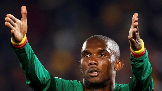 World Football - Eto'o ends Cameroon stand-off