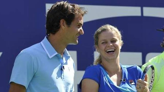 Federer and Clijsters hoping for US Open magic