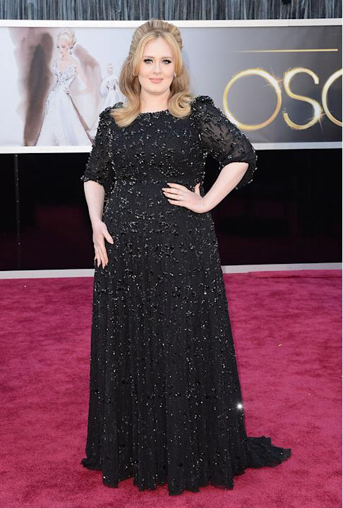 85th Annual Academy Awards - Arrivals: Adele