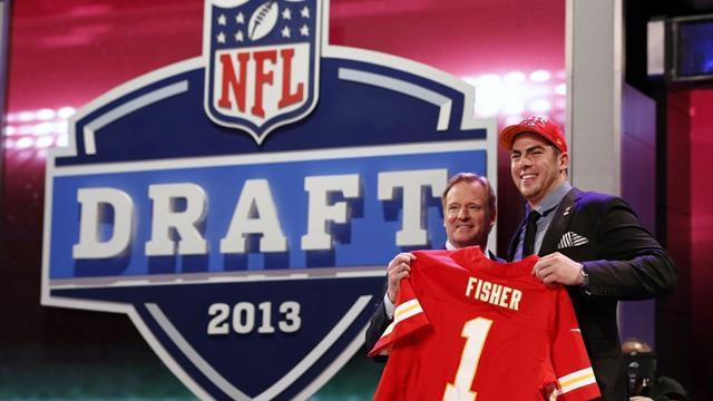 American Football - Fisher picked number one in NFL Draft