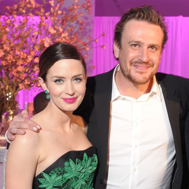 "Die Stars von ""The Five-Year Engagement"" (2012): Emily Blunt und Jason Segel (Bild: Getty Images)"