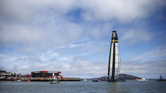 Sailing - Sweden's Artemis loses to Italy in America's Cup debut
