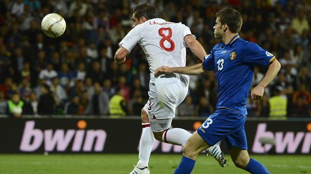 World Cup - England make winning start in Moldova