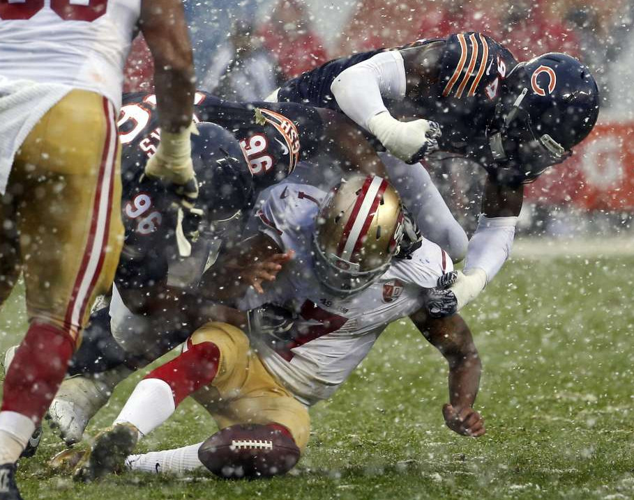 Colin Kaepernick's snow tires weren't ready for Week 13