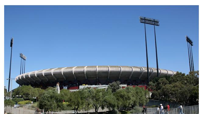 Demolition Of San Francisco's Candlestick Park Enters Final Phase