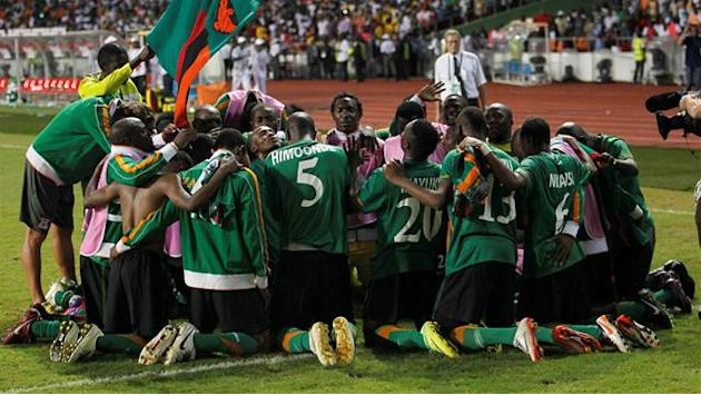 African Cup of Nations - Zambia go goalless again in warm-up