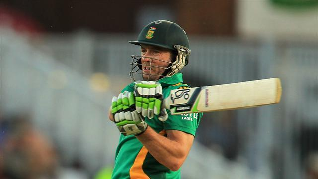 Cricket - South Africa rue rash shots as De Villiers stays hot
