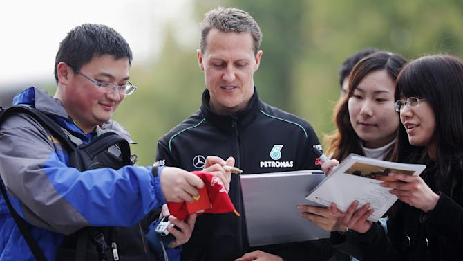 Chinese F1 Grand Prix - Practice