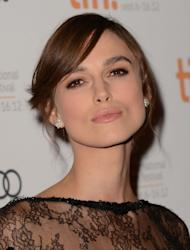 Keira Knightley attends the 'Anna Karenina' premiere during the 2012 Toronto International Film Festival at The Elgin on September 7, 2012 in Toronto -- Getty Images