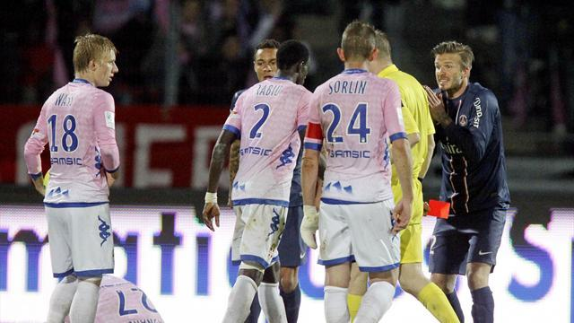Ligue 1 - One-match ban for Beckham, two for Verratti, Sirigu