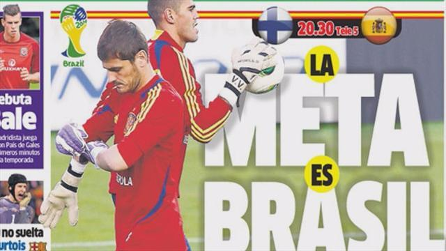 World Cup - Euro Papers: Casillas vs. Valdes: Who is Spain's No. 1?
