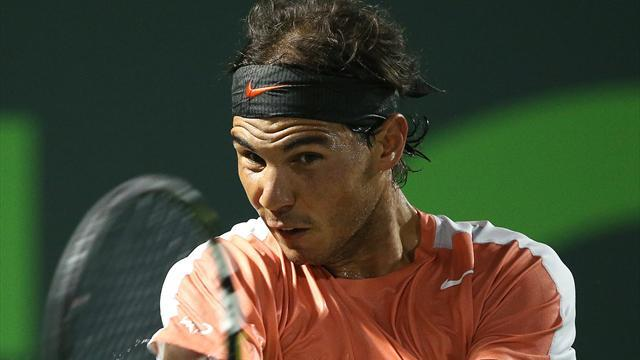 Tennis - Nadal shows Hewitt respect but no mercy in Miami rout
