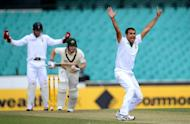 Imran Tahir appeals for an LBW decision against Tim Paine during a tour match at the Sydney Cricket Ground on Saturday. South Africa will be looking to play leg-spinner Tahir and opt against playing four specialist pace bowlers in Friday's opening Test against Australia, a team coach said on Monday