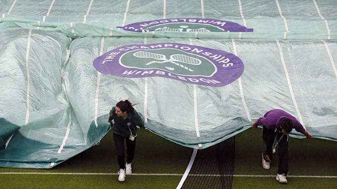 Tennis - Wimbledon order of play for Tuesday