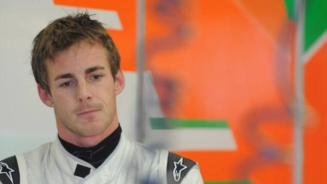 Formula 1 - Rossiter to drive Force India in Friday practice