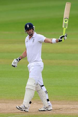 Kevin Pietersen scored 110 on the opening day of England's latest tour match