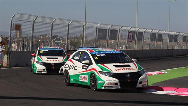 WTCC - Honda reflect on promising run in Morocco