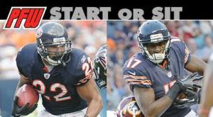 Start or sit: Bear down