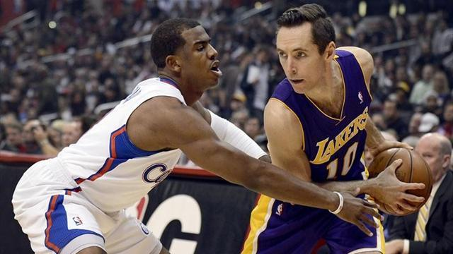 Basketball - Paul keeps Clippers on top in LA battle