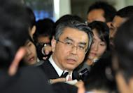 Shinsuke Sugiyama, Japan's envoy to talks on North Korea's nuclear disarmament, pictured after a meeting with his South Korean counterpart in Seoul, in 2011. Sugiyama is in Seoul once again, for one-day talks on N.Korea and other issues amid concerns the communist state may be planning another nuclear test