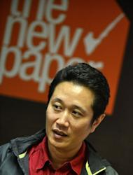 """Zaihan Mohamed Yusof, an investigative reporter with Singapore's The New Paper, speaks during an interview on February 5, 2013. """"If you arrest Dan Tan, the signal it gives is that investigators can reach out and touch you,"""" said Zaihan, who spoke to Tan Seet Eng in a rare interview in 2011"""